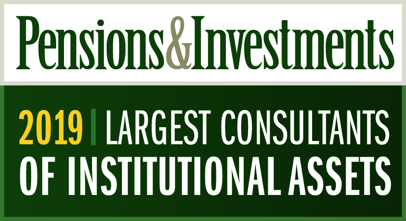 Pensions & Investments Largest Consultants of Institutional Assets 2018